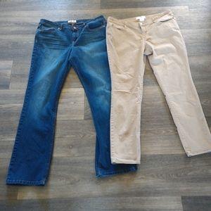Jean lot Size 17 LEI nobo